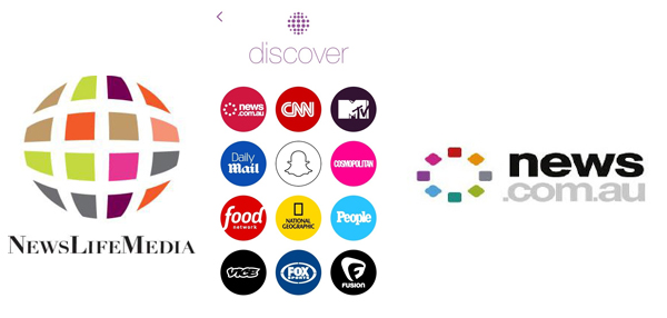 News Com Au Launches On Snapchat Discover