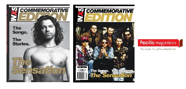 Pacific Magazines release INXS Commemorative Edition